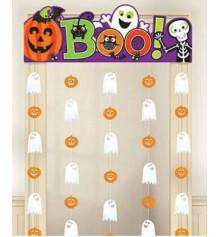"""Украшение на дверь """"Забавный Хэллоуин"""" купить в интернет магазине подарков ПраздникШоп"""
