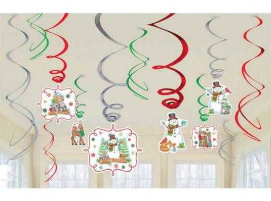 """Набор спиралей """"Зимние друзья"""" купить в интернет магазине подарков ПраздникШоп"""