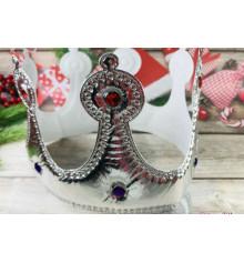 Корона мягкая, серебро купить в интернет магазине подарков ПраздникШоп