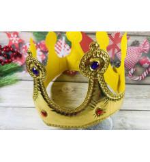 Корона мягкая, золото купить в интернет магазине подарков ПраздникШоп