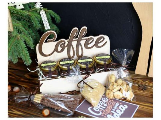 """Подарочный набор """"4 coffee"""" купить в интернет магазине подарков ПраздникШоп"""