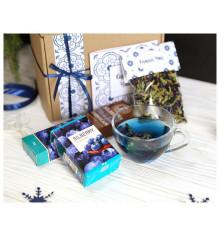 """Подарочный набор """"Синий чай"""" купить в интернет магазине подарков ПраздникШоп"""