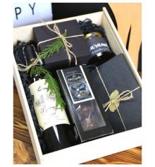 """Подарочный набор """"Черный"""" купить в интернет магазине подарков ПраздникШоп"""