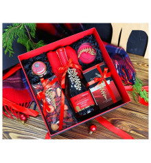 """Подарочный набор """"Красное и черное"""" купить в интернет магазине подарков ПраздникШоп"""