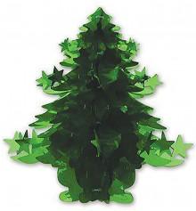 Подвеска елка голографическая 40см купить в интернет магазине подарков ПраздникШоп