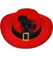 Шляпа мушкетера, детская купить в интернет магазине подарков ПраздникШоп
