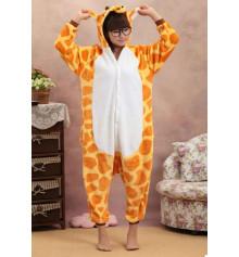 """Пижама-кигуруми """"Жираф"""" (Размер М) купить в интернет магазине подарков ПраздникШоп"""