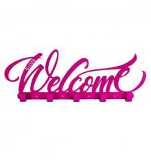 """Вешалка настенная """"Welcome"""" купить в интернет магазине подарков ПраздникШоп"""