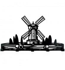 """Вешалка настенная """"Windmill"""" купить в интернет магазине подарков ПраздникШоп"""
