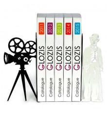 """Упоры для книг """"Chaplin"""" купить в интернет магазине подарков ПраздникШоп"""