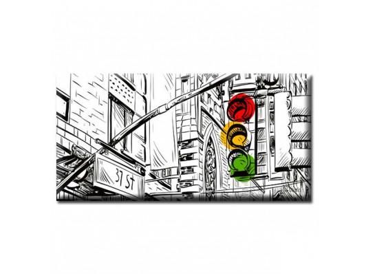 """Картина """"New York"""" купить в интернет магазине подарков ПраздникШоп"""
