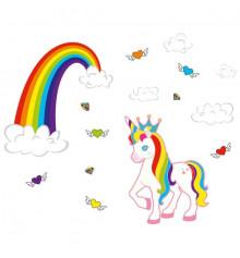 """Наклейка детская """"Unicorn"""" купить в интернет магазине подарков ПраздникШоп"""