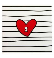 "Открытка- шоколадка ""Ключ від серця"" купить в интернет магазине подарков ПраздникШоп"