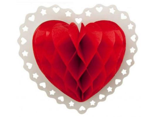 """Декор 3D """"Сердце"""" купить в интернет магазине подарков ПраздникШоп"""