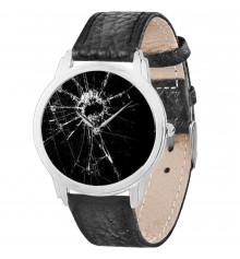 """Наручные часы """"Разбитое стекло"""" купить в интернет магазине подарков ПраздникШоп"""