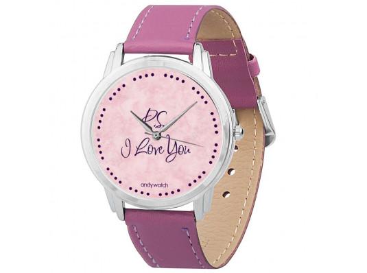 """Наручные часы """"p.s. I love you"""" купить в интернет магазине подарков ПраздникШоп"""