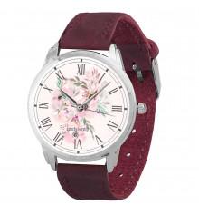 """Наручные часы """"Зефирная нежность марсала"""" купить в интернет магазине подарков ПраздникШоп"""