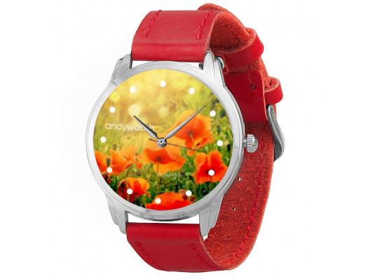 """Наручные часы """"Маки"""" купить в интернет магазине подарков ПраздникШоп"""