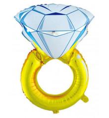 """Шар """"Кольцо с бриллиантом"""" купить в интернет магазине подарков ПраздникШоп"""