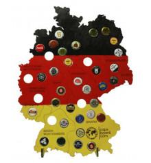 """Копилка для пивных крышек """"Карта Германии"""" купить в интернет магазине подарков ПраздникШоп"""