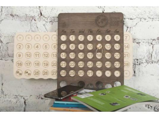 Настенный вечный календарь купить в интернет магазине подарков ПраздникШоп