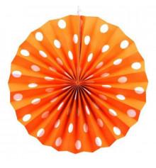 Веерный круг (тишью) 30 см, 2 цвета купить в интернет магазине подарков ПраздникШоп