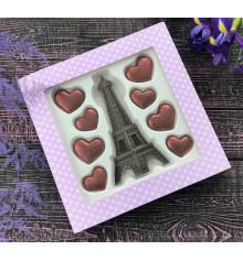 """Шоколадный набор """"Париж с любовью"""" купить в интернет магазине подарков ПраздникШоп"""