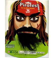 Набор Пирата (брови, усы, борода), 2 вида купить в интернет магазине подарков ПраздникШоп
