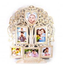 """Фоторамка """"FAMILY"""", 6 фото купить в интернет магазине подарков ПраздникШоп"""