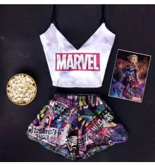 """Шёлковая пижама """"Marvel"""" купить в интернет магазине подарков ПраздникШоп"""