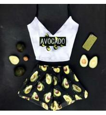 """Шёлковая пижама """"Avocado"""" купить в интернет магазине подарков ПраздникШоп"""