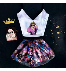 """Шёлковая пижама """"Princess"""" купить в интернет магазине подарков ПраздникШоп"""