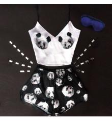 """Шёлковая пижама """"Panda"""" купить в интернет магазине подарков ПраздникШоп"""