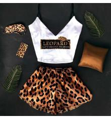 """Шёлковая пижама """" Leopard"""" купить в интернет магазине подарков ПраздникШоп"""