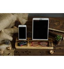 """Подставка для планшета и смартфона """"WalNut"""" купить в интернет магазине подарков ПраздникШоп"""