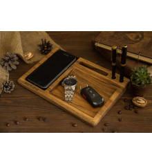 """Беспроводное зарядное устройство """"WalNut"""" купить в интернет магазине подарков ПраздникШоп"""