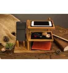 Органайзер из дерева для аксессуаров купить в интернет магазине подарков ПраздникШоп