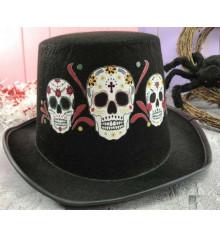 """Шляпа """"Мексиканский череп"""" купить в интернет магазине подарков ПраздникШоп"""