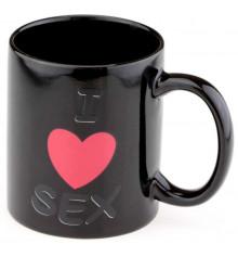"""Чашка - хамелеон """"Love sex"""" купить в интернет магазине подарков ПраздникШоп"""