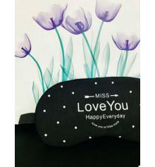 """Маска для сна с гелем """"Love You"""" купить в интернет магазине подарков ПраздникШоп"""