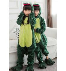 """Детская пижама-кигуруми """"""""Динозавр"""", 110 см купить в интернет магазине подарков ПраздникШоп"""
