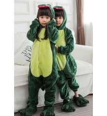"""Детская пижама-кигуруми """"""""Динозавр"""", 120 см купить в интернет магазине подарков ПраздникШоп"""