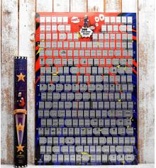 """Скретч-постер """"My Poster Fantastic Movies"""" купить в интернет магазине подарков ПраздникШоп"""