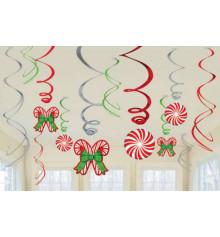 """Набор спиралей """"Новогодние леденцы"""" купить в интернет магазине подарков ПраздникШоп"""