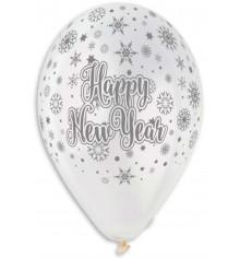 "Шар ""Happy New Year"" купить в интернет магазине подарков ПраздникШоп"