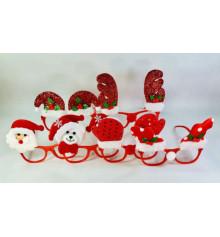 Новогодние очки, микс купить в интернет магазине подарков ПраздникШоп