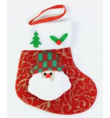 """Носок для подарков """"Санта Клаус"""" купить в интернет магазине подарков ПраздникШоп"""