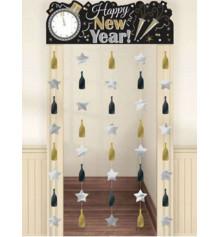 """Украшение на дверь """"Happy New Year"""" купить в интернет магазине подарков ПраздникШоп"""