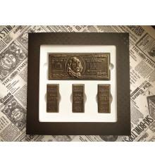 """Шоколадный набор """"Финансовое благополучие"""" купить в интернет магазине подарков ПраздникШоп"""