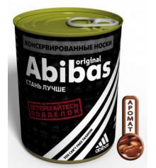 Консервированные носки «Abibas» купить в интернет магазине подарков ПраздникШоп
